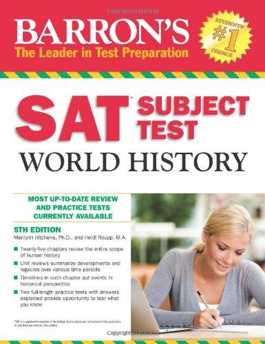 SAT Subject Test World History (Barron's Sat Subject Test World History)