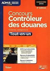 Concours Contrôleur des douanes - Tout-en-un - Catégorie B - Concours 2015