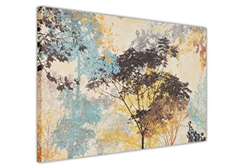 ABSTRACT CANVAS WALL ART PRINTS FOREST TREES PHOTO PRINTING ROOM DECORATION PICTURES PHOTO HOME NATURE CANVASES