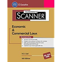 Scanner-Economic & Commercial Laws (CS-Executive)-(December 2018 Exams) (5th Edition June 2018)