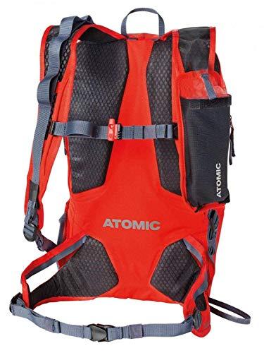 Atomic Damen/Herren Skitouren-Rucksack Backland UL, 15 Liter, 500 x 142 x 280 cm, hellrot, AL5043110