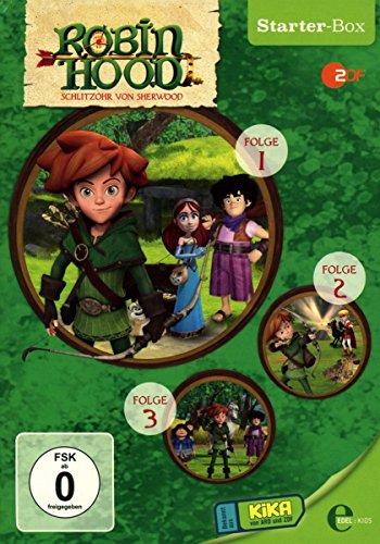 Robin Hood: Schlitzohr von Sherwood - Starter-Box [3 DVDs] - Hilfe-starter