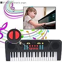 Giochi Musicali,WINWINTOM 37 Chiavi Elettroniche Digital Music Piano Della Tastiera Elettrica Con Il (Riempito 17 Gioiello)