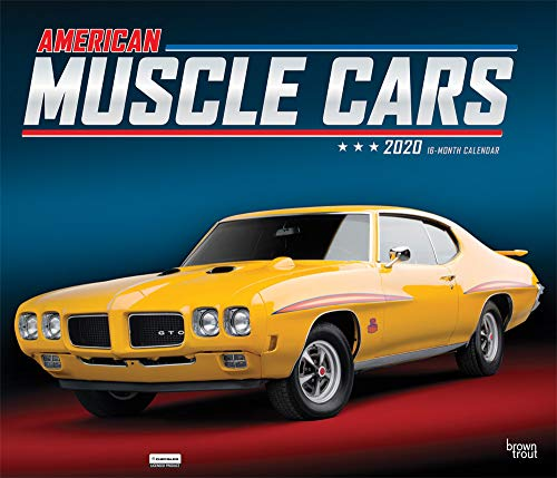 American Muscle Cars 2020 Calendar: Foil Stamped Cover par Browntrout Publishing