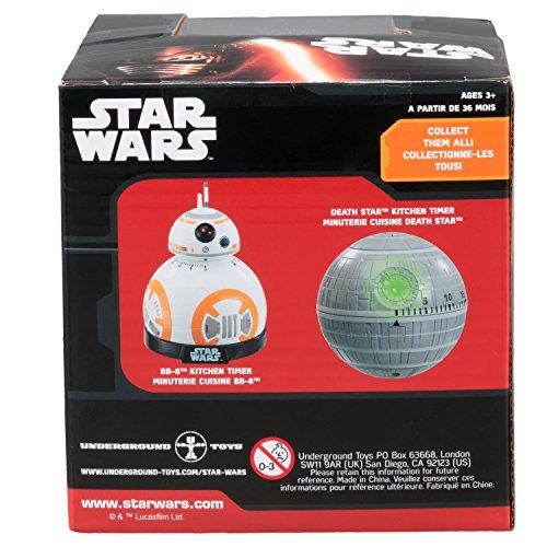 51NyOrJkYlL. SS500  - Star wars Epvii: SW02722 Kitchen Timer: Bb-8 (Light And Sound), Orange/white