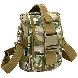 F@Deportes al aire libre impermeabilizan Kit, paquete de coche de paseo en hombres y mujeres, bolsos verticales, monedero bolso táctico, impermeable al aire libre senderismo caminando Kit, Camo Digital bolso, bolso , cp camouflage