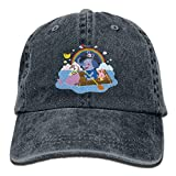 errterfte Baby Elephant Spraying Rainbow Lover Cap Unisex Strapback Hat Classic Breathable