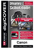 DdigiCOVER - Protector de pantalla para cámaras Canon Digital IXUS 510 HS