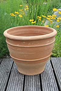 Kreta-Keramik, frostfester handgefertigter Terracotta Topf