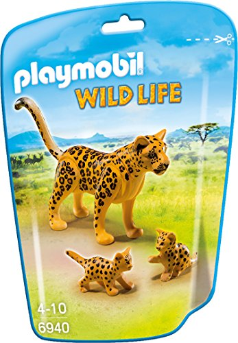 PLAYMOBIL 6940 - Leopard mit Babys (Leopard 6)