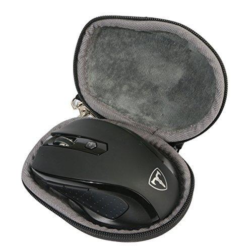 Hart Reise Schutz Hülle Etui Tasche für VicTsing Mini Schnurlos Maus Wireless Mouse von co2CREA