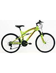 """FREJUS - Bicicleta 24"""" Mtb Full Susp. Acero"""