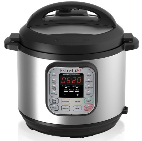 Instant Pot IP-DUO60 7-in-1 Programmable Pressure Cooker, 6L/1000W 220V, Latest 3rd Generation Technology, Stainless Steel Cooking Pot and Exterior
