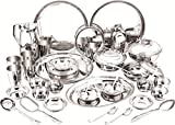 #3: DeV Stainless Steel Dinner Set 31 Pcs Stainless Steel Dinner Set