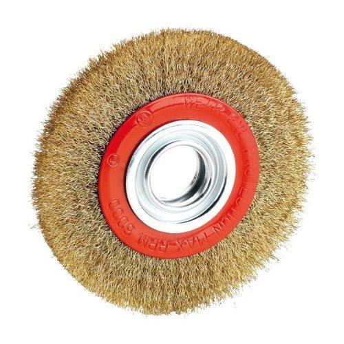 Alyco 197606 - Cepillo metalico circular 200 mm esmeriladora