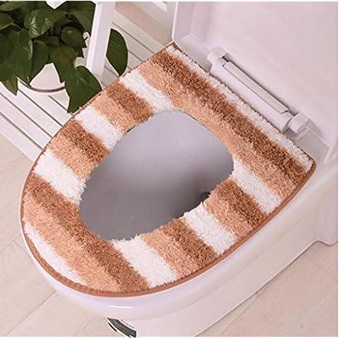XWG Il water cuscino / WC mat / sedile del water / Il velluto più spessa toilette pad / inverno manica / Universal pad seduta ( colore : 2# )