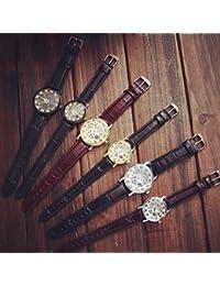 Relojes Hermosos, Las mujeres del reloj de pulsera de cuarzo analógico hueco Reloj Reloj RELOJ pareja de estudiantes (colores surtidos) ( Color : Oro , Género : Para Hombre )