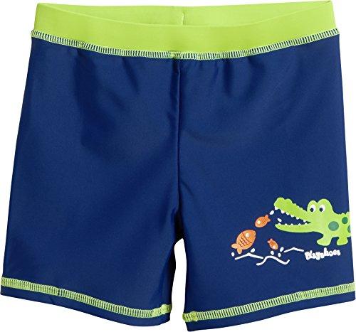 Playshoes Jungen UV-Schutz Short Krokodil Badehose, Blau (Marine 11), 86 (Herstellergröße: 86/92)