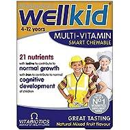 Vitabiotics Wellkid Multi-Vitamin Smart Chewable - 30 Tablets