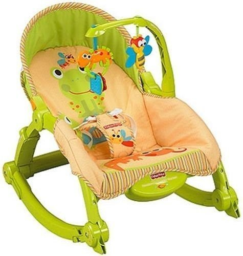 Fisher-price Newborn-to-toddler Portable Rocker New