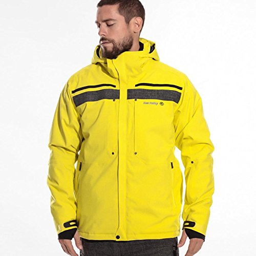 Sun Valley Blinker Skijacke (gelb), L