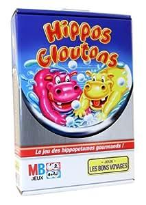 MB - Jeu de voyage - Hippos Gloutons Voyage