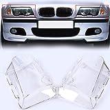Lichtscheibe Scheinwerfer Abdeckung Transparent Streuscheibe Set Links&Rechts 1998-2002 Vorfacelift