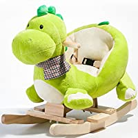 Rocket Bunny Children Rocking Horse Animals Toys soft &Safe for Toddlers Kids Baby Toy