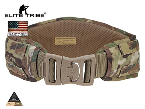 AIRSOFT Jagd Tactical Gürtel Gepolstert MOLLE Combat Taille Gürtel multicam