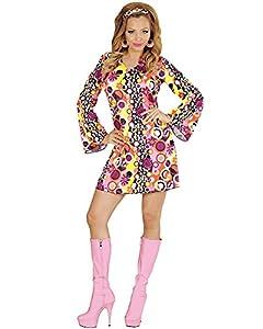 WIDMANN wid67671?Disfraz para adultos Groovy Girl, multicolor, S