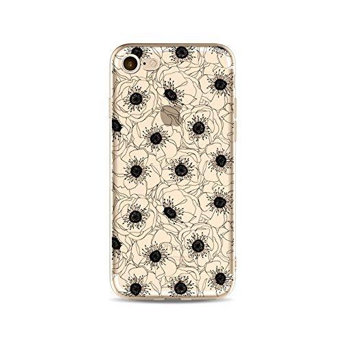 Coque iPhone 6 Plus 6s Plus Housse étui-Case Transparent Liquid Crystal en TPU Silicone Clair,Protection Ultra Mince Premium,Coque Prime pour iPhone 6 Plus 6s Plus-ligne-style 7 4