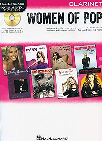 Hal Leonard Instrumental Play-Along: Women of Pop - Clarinet