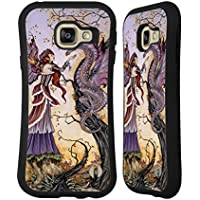 Officiel Amy Brown Le Charmeur De Dragon Fantaisie Étui Coque Hybride pour Samsung Galaxy A3 (2016)