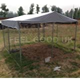 Cubierta superior de 3m x 3m Walk In Dog Kennel Pen Run al aire libre ejercicio de la jaula - DOG COVER 03 ES
