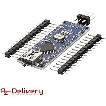 5 Stücke Pro Mini ATMEGA328 3,3 V 8 Mt Arduino Kompatibel Nano Ersetzen xr