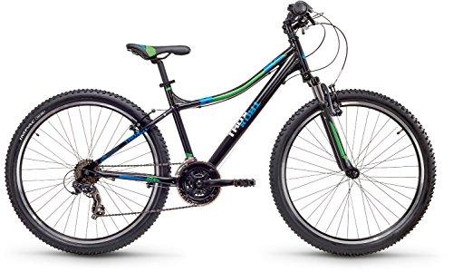 Atb-cross (s'cool troX cross 26 21-S Black/Blue/Green Matt Laufradgröße 26