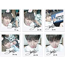 BTS bangtan Boys fancafe jungkook Self Wide Polaroid Photo Juego Ver.1
