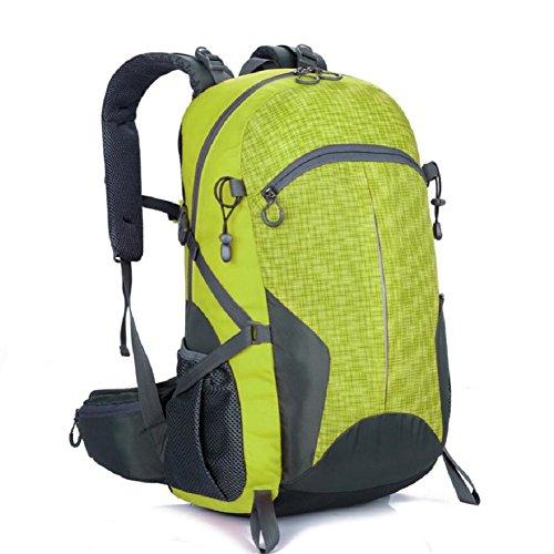 LF&F 40-50L GroßE KapazitäT Hochwertige Nylon Outdoor Sporttasche Bergsteigen Rucksack Studenten Tasche Mehrzweck Reiten Urlaub Camping GepäCk TäGlicher Gebrauch A