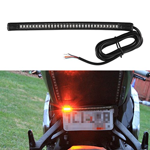 WINOMO Universal rot LED-Streifen Bremse stoppen Blinker Flexible LED-Streifen