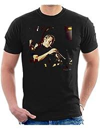 David Redfern Official Photography - Chet Baker At Sesjun Radio Show Men's T-Shirt
