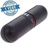 Captcha Pill Shaped Bluetooth Speaker with Call Function - Panasonic Compatible