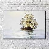 einfache dekorationsmalerei, segeln, segeln, malerei, hotel -, club - home improvement,j,50 * 70