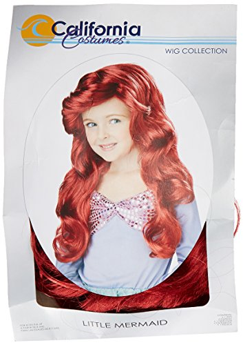 The Little Mermaid Ariel Red Perücke (Ariel Perücke)