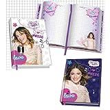 LSC12958 Diario scuola Violetta 10 mesi - pluriennale