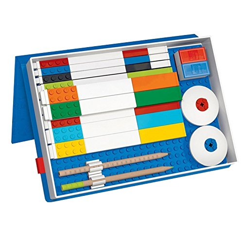 LEGO 51501–Organizer blu con pannello di costruzione