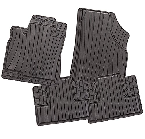 carfashion Allwetter alfombrillas para Tourneo Connect 5 plazas - CD2