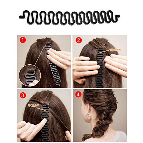 Zoom IMG-3 accessori per capelli tipi set