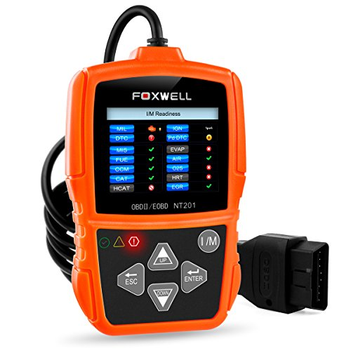 OBD-II Auto Diagnostic Scanner OBDII Lecteur de Code (NT201 Orange)