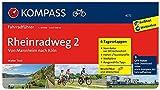 Rheinradweg 2, Von Mannheim nach Köln: Fahrradführer mit Stadtplänen und GPX-Daten zum Download.: Fietsgids 1:50 000 (KOMPASS-Fahrradführer, Band 6272)