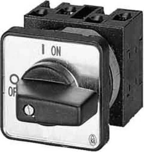Eaton 024604 STERN-Dreieck-Schalter, Kontakte: 8, 20 A, Frontschild: 0-Y-D, 60 Grad, Rastend, Einbau -